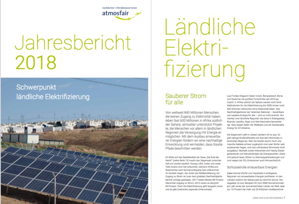 Projektbild Jahresbericht